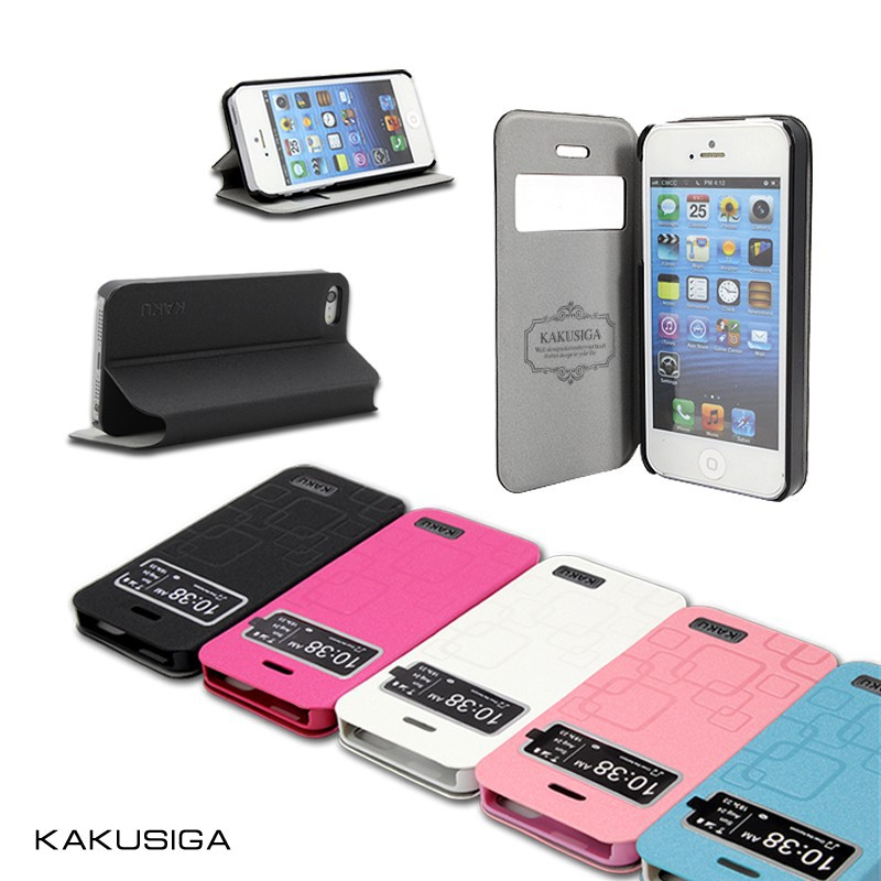 Kakusiga flip design smart cover cheap mobile phone case for samsung galaxy s4