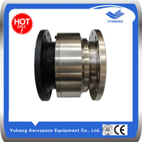 Mechanical sealing flange connection carbon steel water swivel joint,hydraulic rotary union