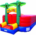 Tree bouncing castle/inflatable bouncer for kids park