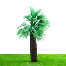 Plastic palm trees for model making landscape M009