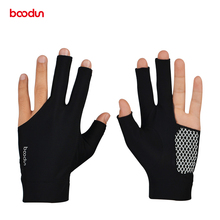 2018 High Quality Cue Billiard Pool Shooters 3 Fingers Snooker gloves Billiard gloves