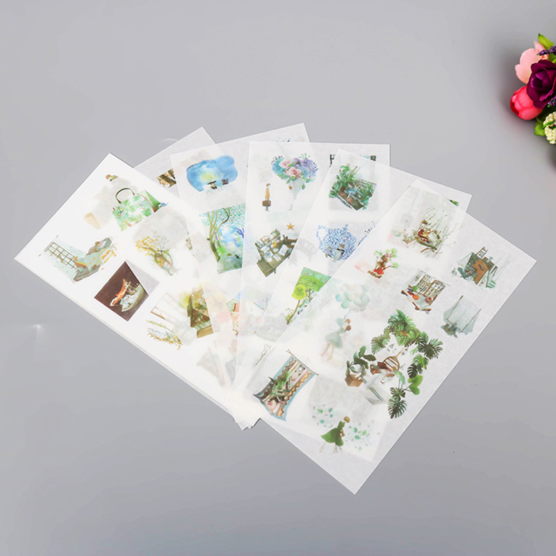 New Design Wholesale Beautiful Children Loved Small Transparent Decoration Sticker