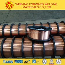 A grade quality all kinds of welding wire CO2 Mig Tig copper welding wire AWS ER70S-6 sg2 welding wire free sample