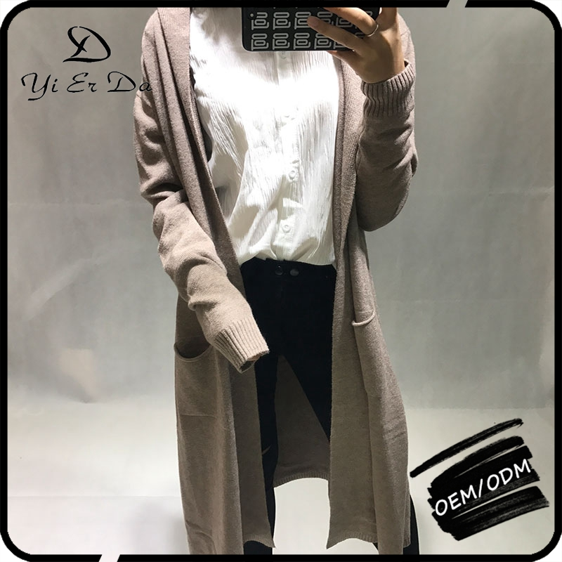 Custom Design Women Oversized Ladies Knitwear Cardigan