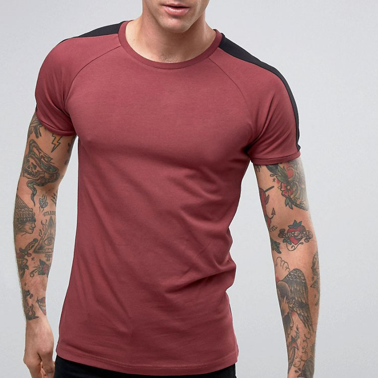 China Suppliers Wholesale T-shirt Printing Blank Cotton Dry Fit Sport Wear Muscle Fit Men's Tshirt
