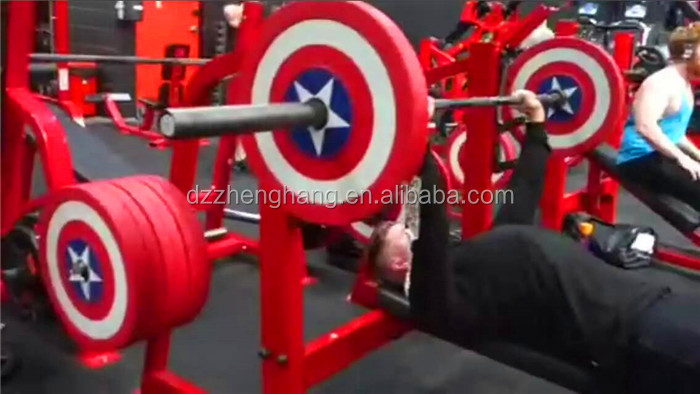 Newest design Captain America PU dumbbell