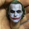 Customized OEM Plastic 1/6 Scale Action Figure Head Sculpt For Joker/OEM 3D Head Sculpt Model
