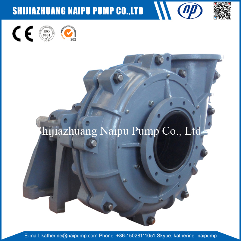 16/14TU-AHR R55 Rubber Wetted Parts Heavy Duty Electric Slurry Pumps