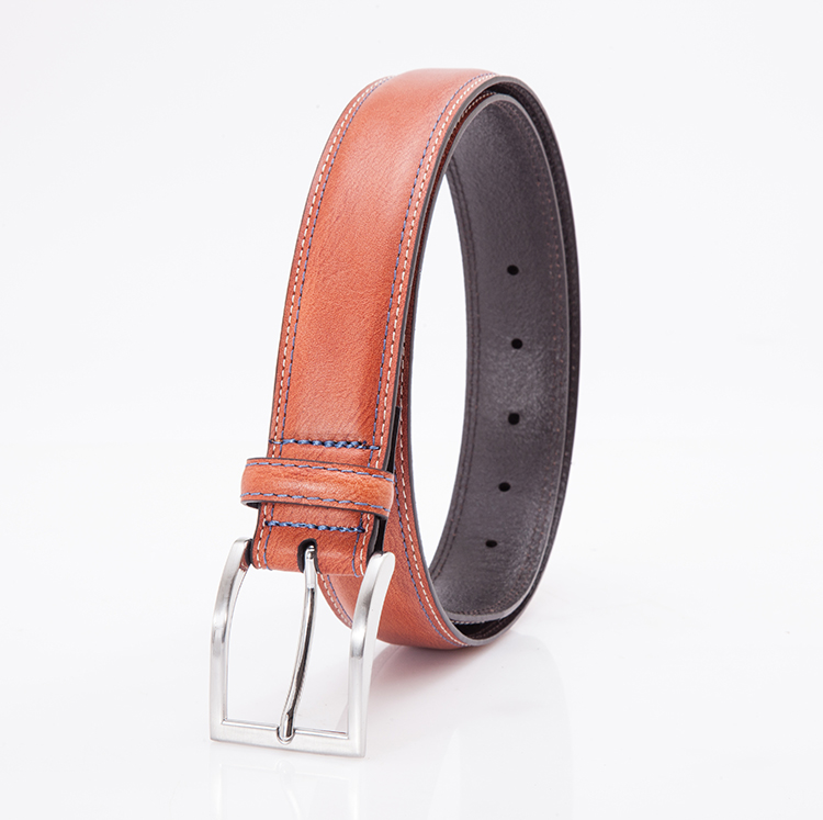 Alfa Wholesale China Goods Private Label Men Genuine Leather Belts Kanpur