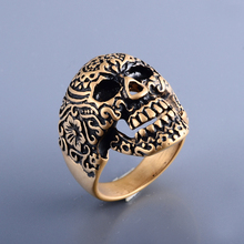 China Factory Cheap Wholesale Jewelry Indonesia Ring, Mens Stainless Steel Gold Ring Blanks