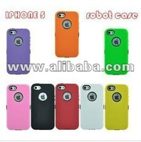 New mobile phone cover silicone for iPhone5 in detail box