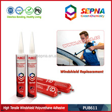 Auto bus vehicle body joint sealing polyurethane adhesive sealant one component