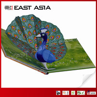 casebound child pop-up activity books producer in China