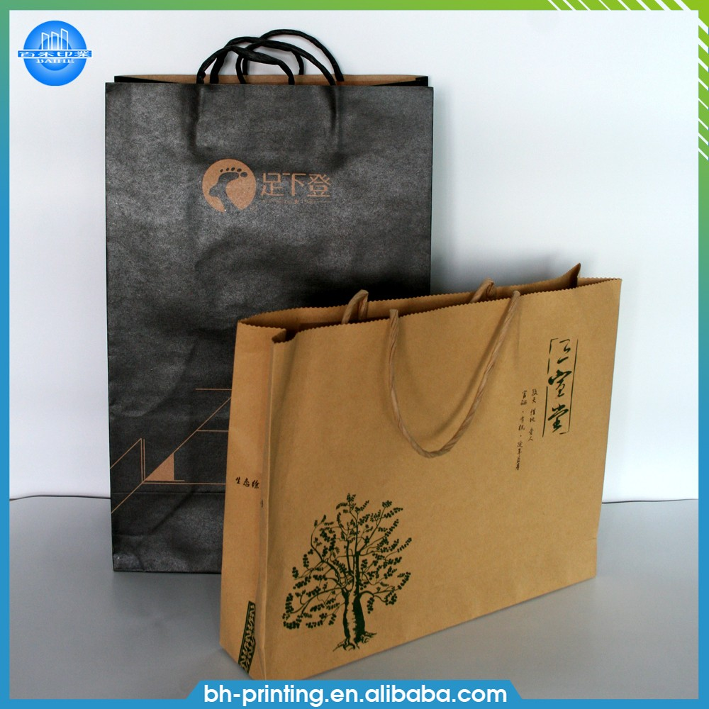 Alibaba wholesale hot sale customized low price craft paper printing bag