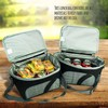 Adult insulated lunch box bag for men and women cooler bags for food