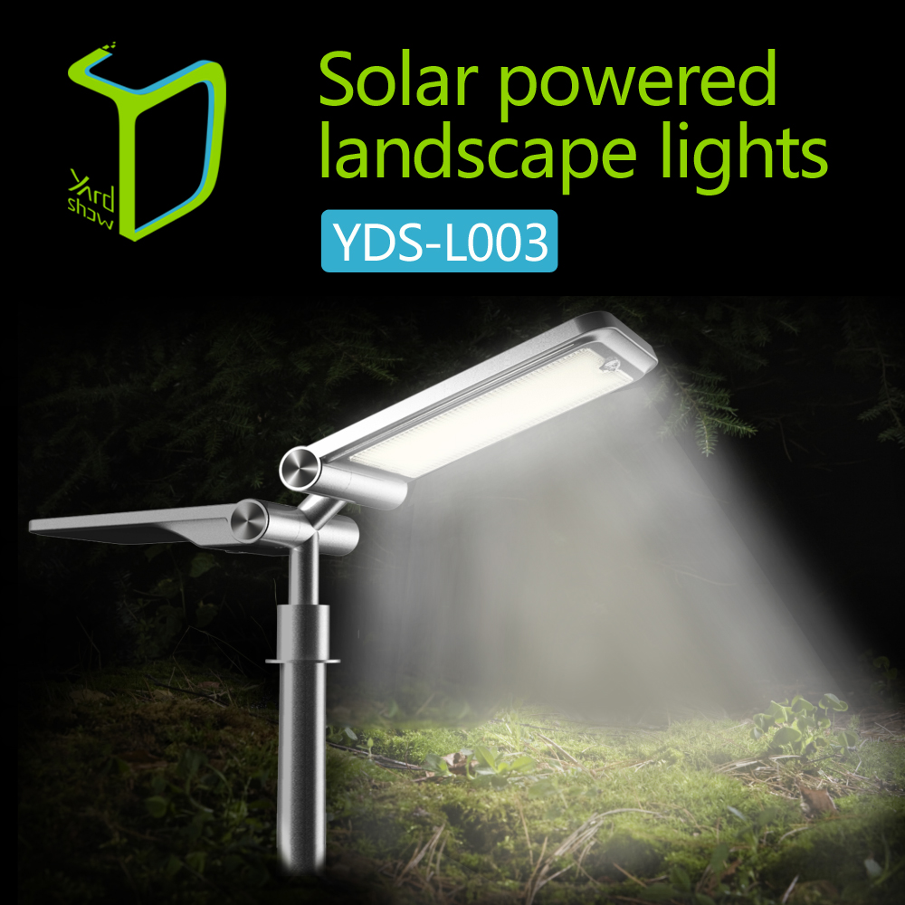 Aosion New Product Line Light Control Sensor Solar Garden Light And Solar Landscape Light