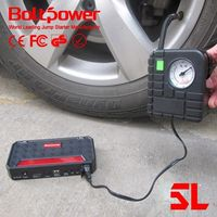 power unit power tool battery mini jump starter go6a with universal wireless phone charger