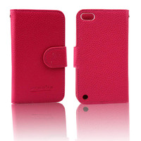 High Quality Wholesale for Ipod Touch 5 Flip Leather Case with Cards Storage