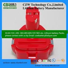 9.6V 2.5Ah NIMH Makit replacement battery pack hot sales