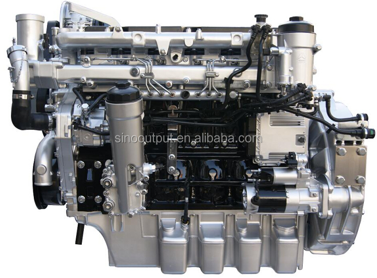 240HP 2000RPM electronic control common rail MAN loader engine MC07.24 for sale