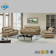 2016 high quality low price violino leather sofa