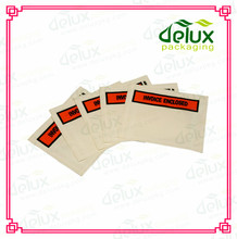 Invoice enclosed stickers documents enclosed envelopes stickers