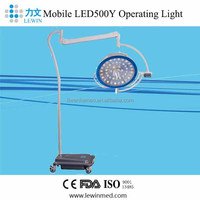 Mobile Stand Battery AC/DC Medical Operating Room Light LED500Y
