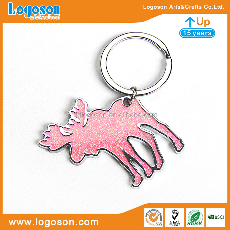 Portable and Vintage Souvenirs Flag Key Chain Custom Made Keychain Ring Embosed Wholesale Key Tags