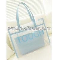 Best selling PVC shopping bag with various colors