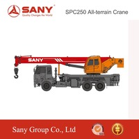 SANY SPC250 25 Tons Mobile Crane of Crane Machine for Sale