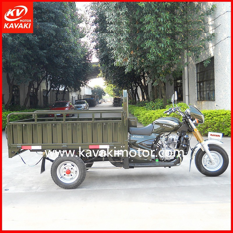 Africa Market 150/200cc Motor Tricycle Triciclo Motocar Motocarro Mototaxi