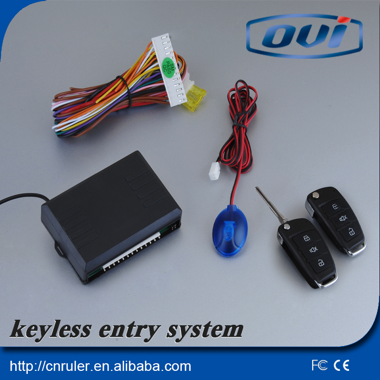 Car Keyless Entry System Easy To Install With Keyless Go Remote Lock And Unlock