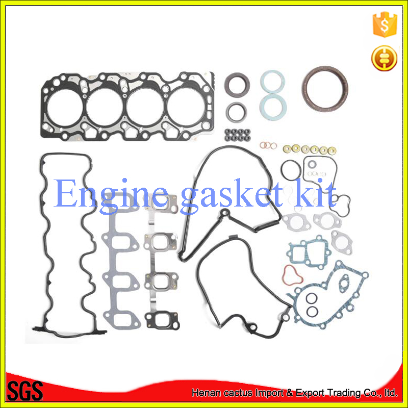 Auto car engine parts 3C 04111-64170 full gasket set FOR TOYOTA