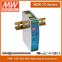 NDR-75-48 75W 48v 1a Mean Well DIN-RAIL LED Driver power supply