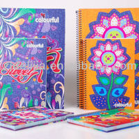 A5 Ruled Paper Spiral Notebook