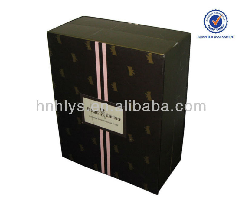 Pet Product Packaging Gift Box Like Book