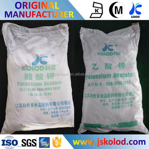 Pharmaceutical Grade/ Food Grade Factory Potassium Acetate Price