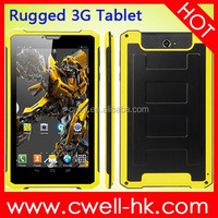 K8000 Rugged Android 3G Tablet PC MTK6572 Dual Core 7 Inch Capacitive Touch Screen 1GB RAM/8GB ROM 2.0MP Camera WIFI GPS