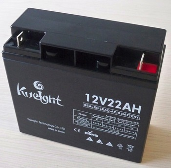 12V 22AH Sealed lead acid AGM rechargeable battery backup battery