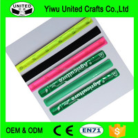 Customized Silicone Slap Wristband Promotion Snap Bracelet