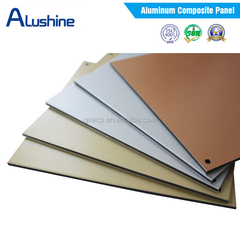 Building material manufacturer aluminum composite panel for Aluminium composite panel interior decoration