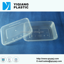 500ml leakproof high quality plastic food container