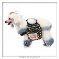 multi-function dog mini backpack