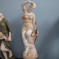 Marble Stone Statue Garden Hand Carved