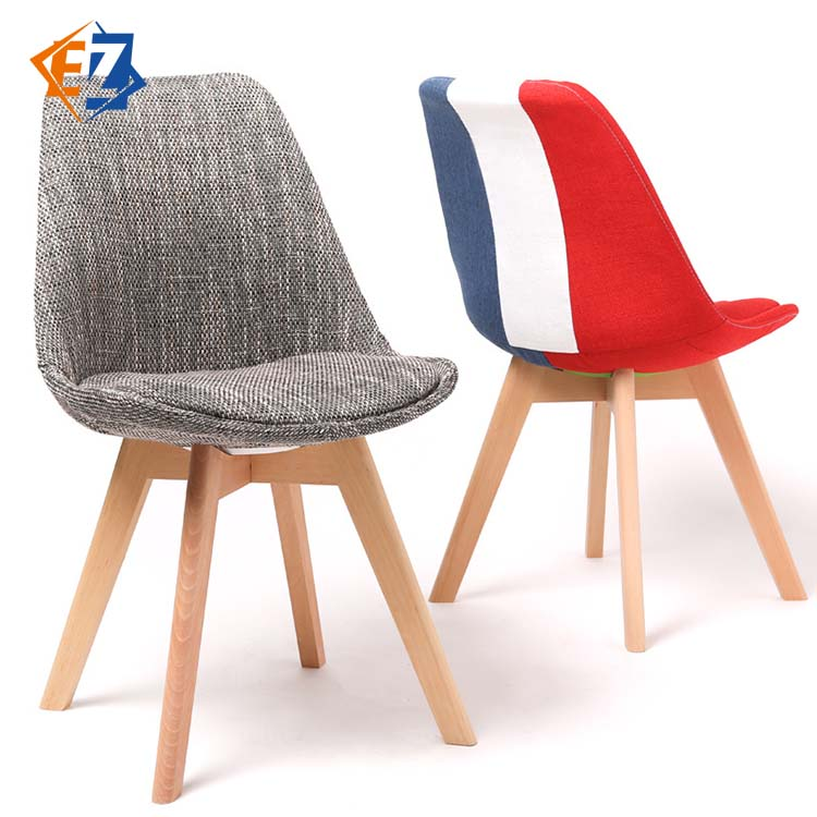 Solid Wood Leisure Multi-colored Simple Modern Nordic Dining <strong>Chair</strong>