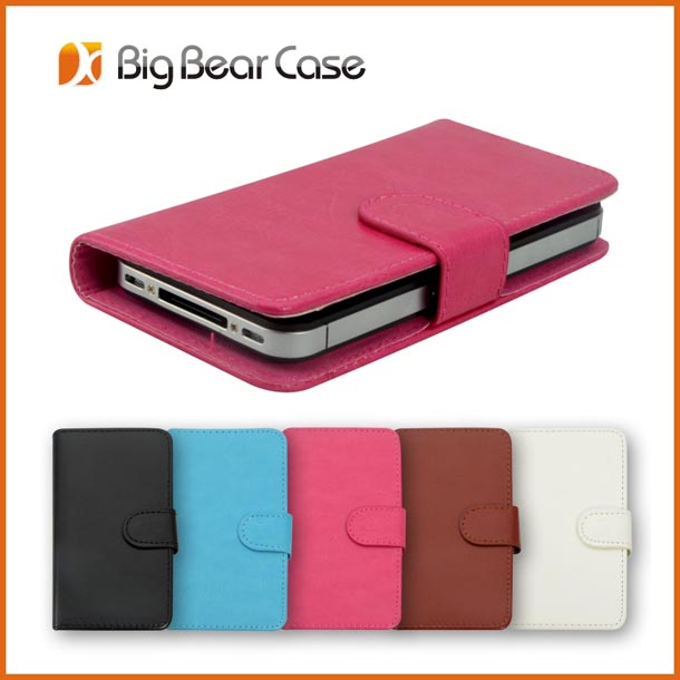 Universal cheap wallet pu leather cell mobile phone case
