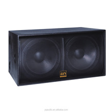 1200w stage sound system dual 18 inch subwoofer speaker box(S218)