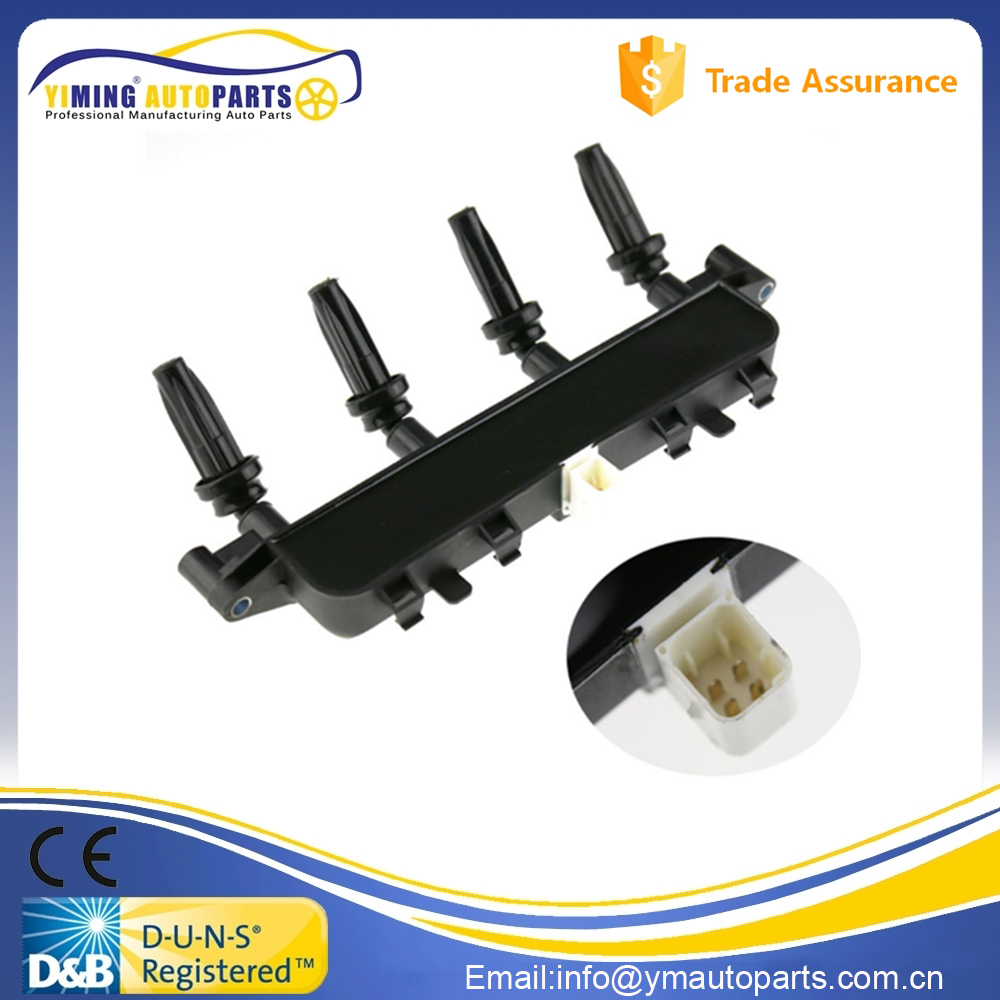 Ignition Coil for CITROEN SAXO XSARA for PEUGEOT 106 206 306 RANCH 0986221035 596319 597078 597079 96358649 2536208A