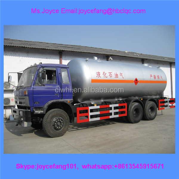 Dongfeng Refitted Vehicle Special For 25000l Liquid Gas Lpg Tanks