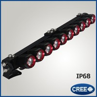 Most popular products cheap china motorcycle 4x4 amber LED light bar for trucks